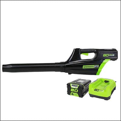 Greenworks GBL80300 2400102 Cordless Blower review