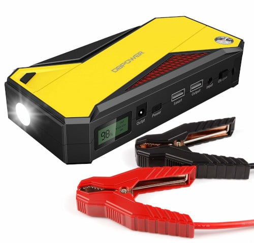 DBPOWER 600A Portable Car Jump Starter Review