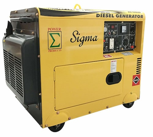 POWER PRODUCTS SIGMA 7000W Silent Diesel Generator Review